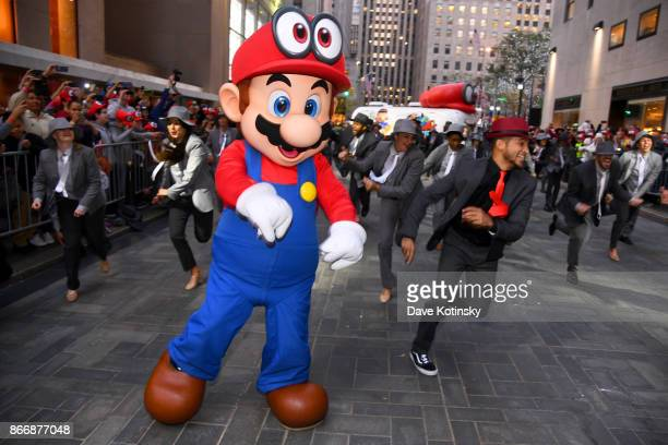 Mario and Jordan Fisher actor recording artist and current contestant on Dancing with the Stars cohosts the Super Mario Odyssey for Nintendo Switch...
