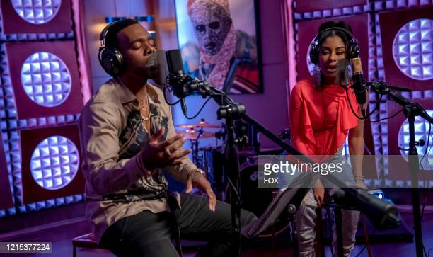 """Mario and Katlynn Simone in the """"We Got Us"""" series' 100th episode of EMPIRE airing Tuesday, April 7 on FOX."""
