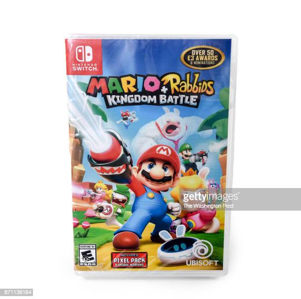 Mario and Rabbids video game one of the items for the Post's annual gift guide on October 2017 in Washington DC