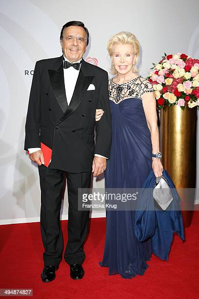 Mario and UteHenriette Ohoven attend the Rosenball 2014 on May 31 2014 in Berlin Germany