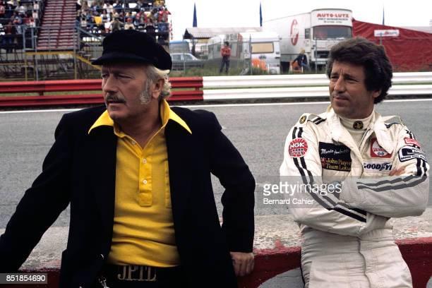 Mario Andretti Colin Chapman LotusFord 78 OR LotusFord 79 Grand Prix of Germany Hockenheimring 30 July 1978
