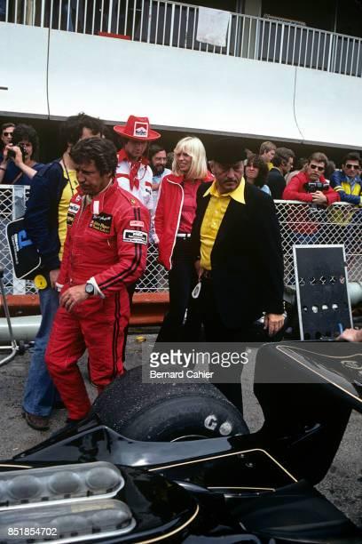 Mario Andretti Colin Chapman LotusFord 78 OR LotusFord 79 Grand Prix of France Circuit Paul Ricard 02 July 1978