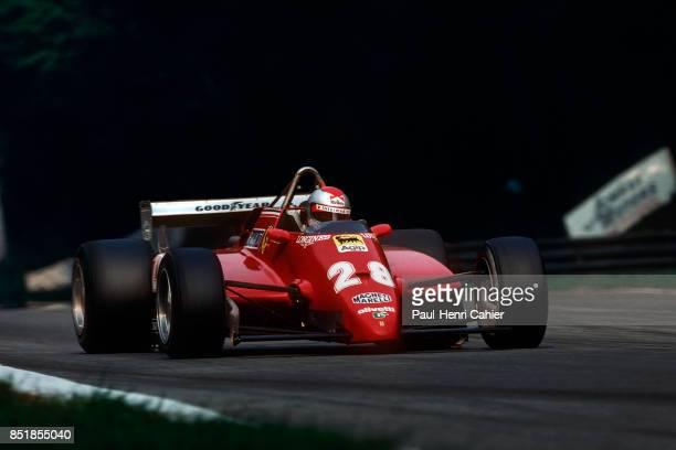 Mario Andretti, Ferrari 126C2, Grand Prix of Italy, Autodromo Nazionale Monza, 12 September 1982.