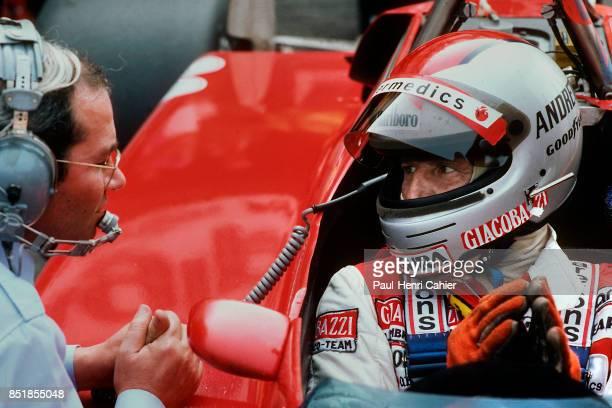 Mario Andretti Ferrari 126C2 Grand Prix of Italy Autodromo Nazionale Monza 12 September 1982