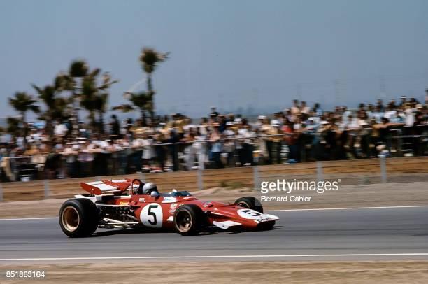 Mario Andretti, Ferrari 312B2, Questor Grand Prix, Ontario Motor Speedway, 19 September 1971.