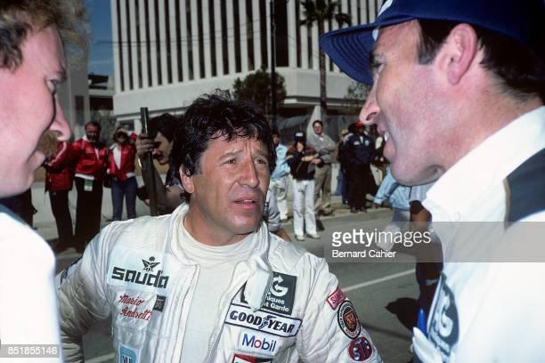 Mario Andretti, Frank Williams, Alfa Romeo 179C, Grand Prix of the United States West, Long Beach, 15 March 1981.