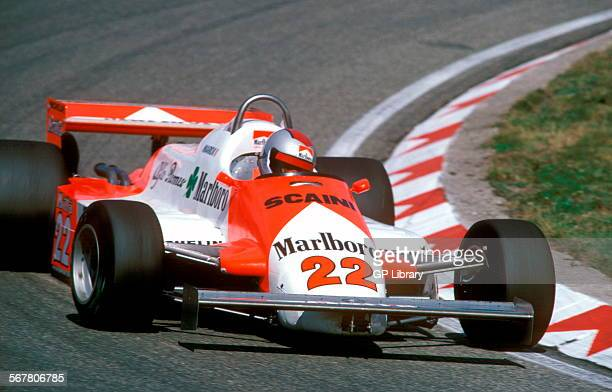 Mario Andretti in an Alfa Romeo 179C in the Italian GP at Monza Italy 1981