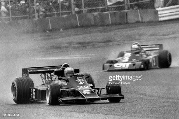 Mario Andretti Jody Scheckter LotusFord 77 Grand Prix of Japan Fuji Speedway 24 October 1976