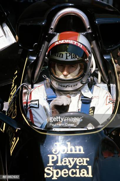 Mario Andretti LotusFord 77 Grand Prix of Spain Circuito del Jarama 02 May 1976