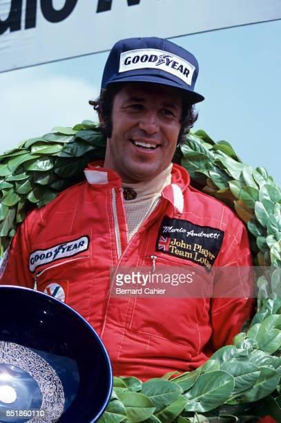 Mario Andretti, Lotus-Ford 78, Grand Prix of France, Dijon-Prenois, 03 July 1977.