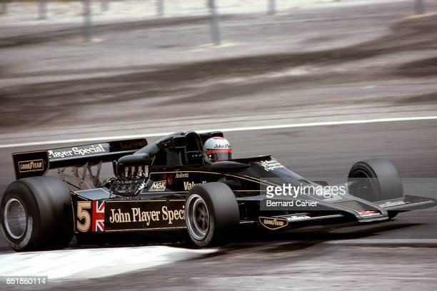 Mario Andretti LotusFord 78 Grand Prix of France DijonPrenois 03 July 1977