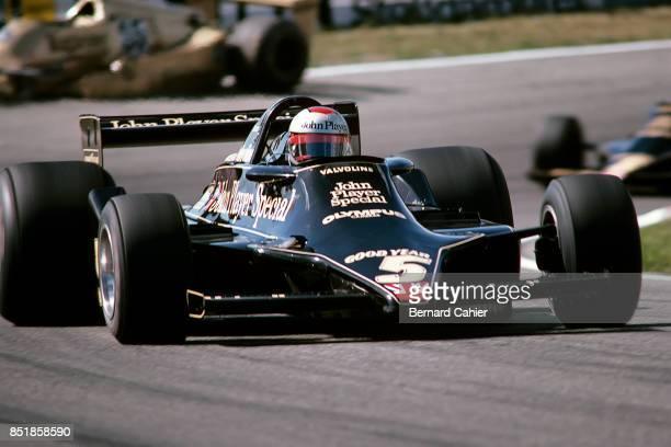 Mario Andretti LotusFord 79 Grand Prix of the Netherlands Circuit Park Zandvoort 27 August 1978