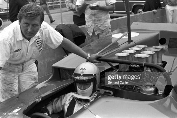 Mario Andretti McLarenFord M6B CanAm Los Angeles Times Grand Prix Riverside 26 October 1969