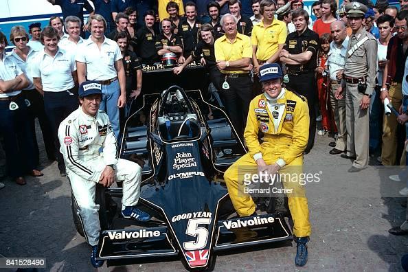 Italian Florence: Mario Andretti, Ronnie Peterson, Colin Chapman, Grand Prix