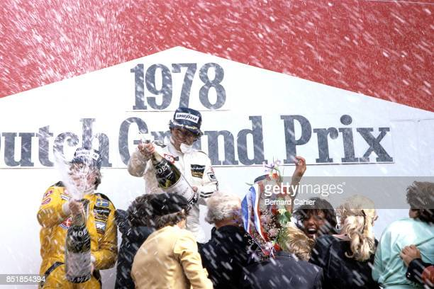 Mario Andretti Ronnie Peterson Grand Prix of the Netherlands Circuit Park Zandvoort 27 August 1978