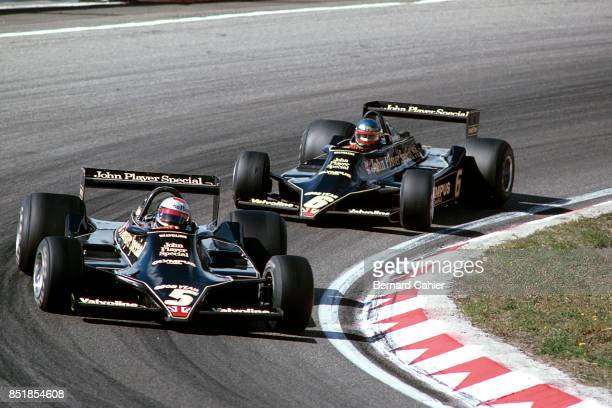 Mario Andretti Ronnie Peterson LotusFord 79 Grand Prix of the Netherlands Circuit Park Zandvoort 27 August 1978