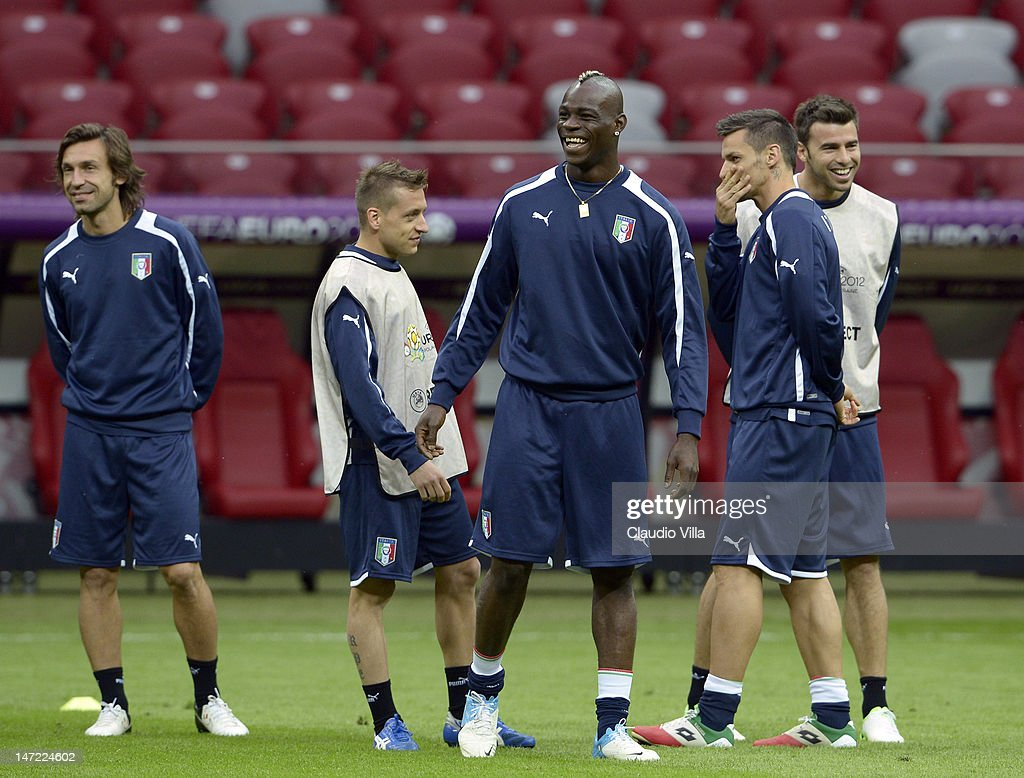 Italy Training and Press Conference - Semi Final: UEFA EURO 2012