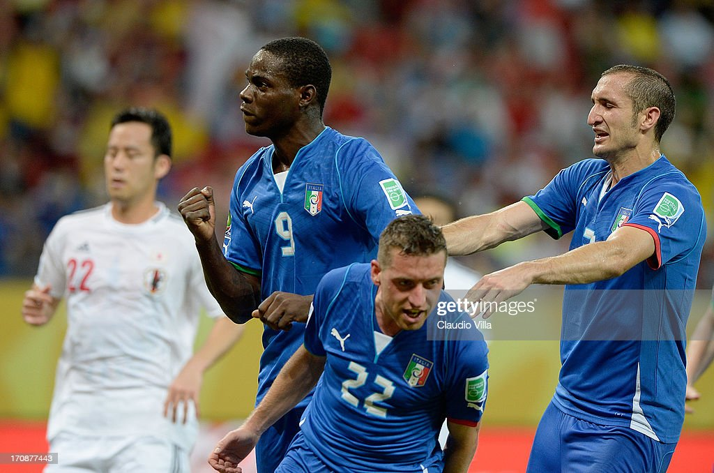 Italy v Japan: Group A - FIFA Confederations Cup Brazil 2013