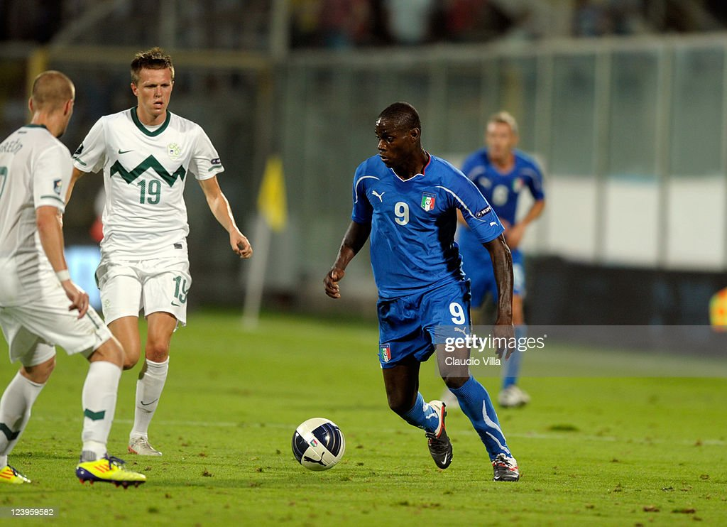 Mario Balotelli Of Italy Controls The Ball During The Euro 2012 News Photo Getty Images