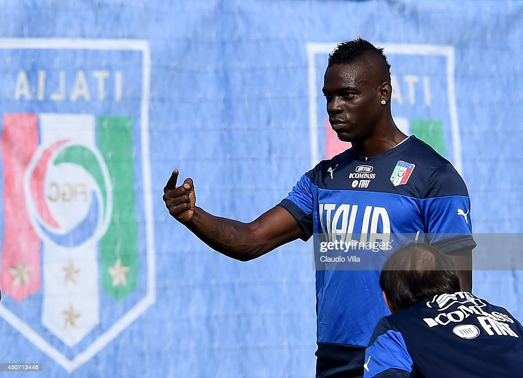 Italy Training & Press Conference - 2014 FIFA World Cup Brazil : News Photo