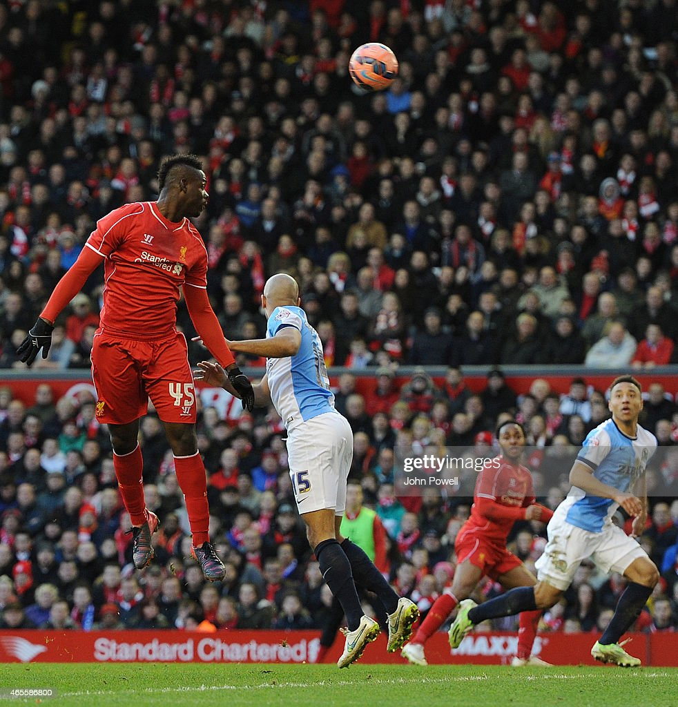 Liverpool v Blackburn Rovers - FA Cup Quarter Final : News Photo