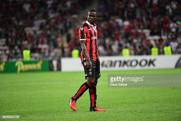 Mario Balotelli of Nice during the Europa League match between Nice and Schalke 04 at Allianz Riviera Stadium on September 15 2016 in Nice France