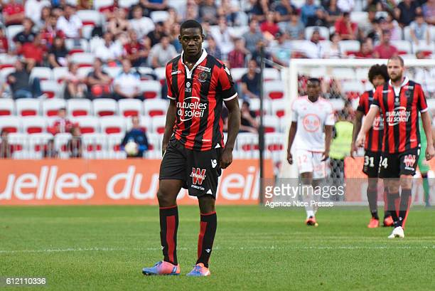 Mario Balotelli of Nice during the Ligue 1 match between OGC Nice and FC Lorient on October 2 2016 in Nice France