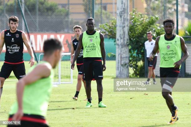 Mario Balotelli of Nice during training session of OGC Nice on June 30 2017 in Nice France