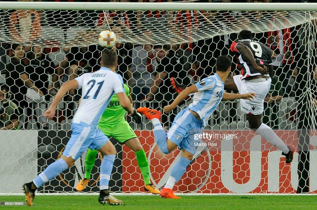 OGC Nice v Lazio - UEFA Europa League : News Photo