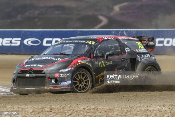 Mario BARBOSA in Citroen DS3 of Mario Barbosa in action during the World RX of Portugal 2018 at Montalegre International Circuit on April 29 2018 in...