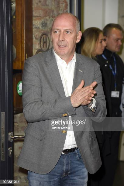 Mario Basler attends the Schauinsland Reisen Cup 2018 at Schwalbe Arena on January 7, 2018 in Gummersbach, Germany.