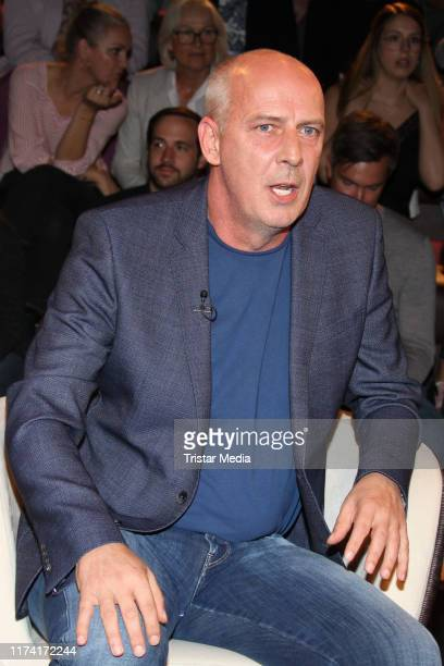 "Mario Basler during the ""Markus Lanz"" TV show on September 11, 2019 in Hamburg, Germany."