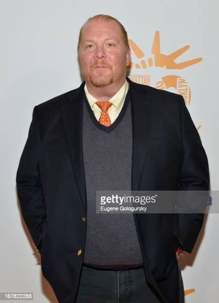 Mario Batali attends the 2013 Food Bank For New York City Can Do Awards at Cipriani Wall Street on April 30, 2013 in New York City.