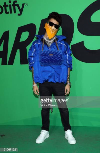 Mario Bautista attends the 2020 Spotify Awards at the Auditorio Nacional on March 05 2020 in Mexico City Mexico