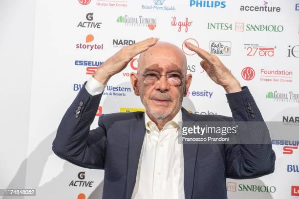 "Mario Bellini attends ""Il Tempo Delle Donne"" Festival in Milan at Triennale Design Museum on September 15, 2019 in Milan, Italy."