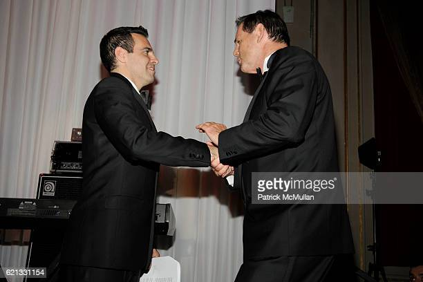 Mario Cantone and Bernd Beetz attend The 2nd Annual DKMS Linked Against Leukemia Gala at Capitale on May 7 2008 in New York City