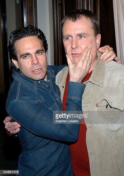 Mario Cantone and Colin Quinn during Comedy Tonight A Night of Comedy to Benefit the 92nd Street Y at The 92nd Street Y in New York City NY United...