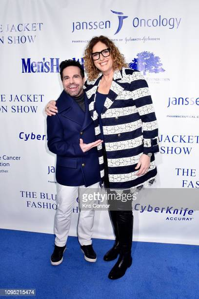Mario Cantone and Judy Gold attend the The 3rd Annual Blue Jacket Fashion Show Benefitting The Prostate Cancer Foundation at Pier 59 Studios on...