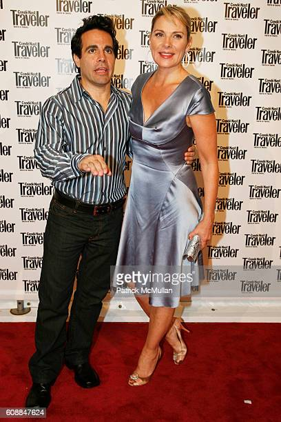 Mario Cantone and Kim Cattrall attend CONDE NAST TRAVELER Readers' Choice Awards & 20TH Anniversary Party at Cooper-Hewitt National Design Museum on...