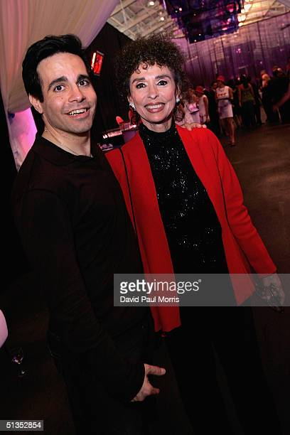 Mario Cantone and Rita Moreno pose at the 22nd annual Macy's Passport 04 evolution/revolution presented by American Express at Fort Mason on Thursday...