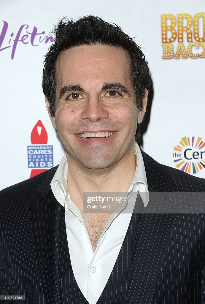 Mario Cantone attends Broadway Backwards 7 at the Al Hirschfeld Theatre on March 5, 2012 in New York City.