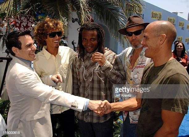 Mario Cantone Rob Machado Sal Masekela Jeff Bridges and Kelly Slater