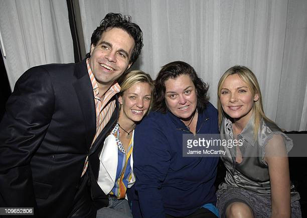 Mario Cantone, Rosie O'Donnell, Kelly O'Donnell and Kim Cattrall