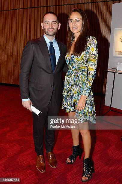 Mario Carbone and Ariel Ashe attend The NYSCF Gala Science Fair at Jazz at Lincoln Center on October 20 2016 in New York City