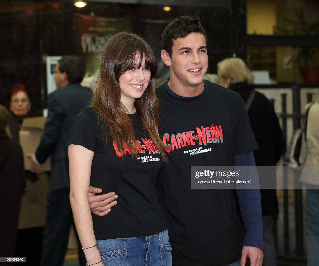 Mario Casas And Blanca Suarez Attend 'Carne De Neon' Premiere In Madrid : News Photo