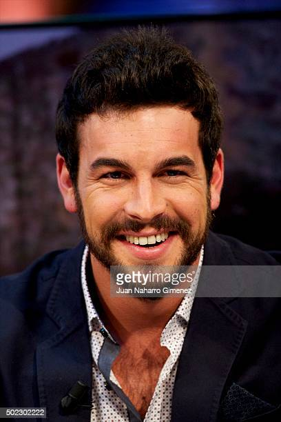 Mario Casas attends 'El Hormiguero' Tv show at Vertice Studio on December 22 2015 in Madrid Spain