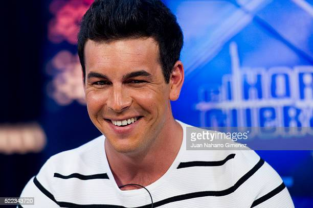 Mario Casas attends 'El Hormiguero' Tv Show at Vertice Studio on April 18 2016 in Madrid Spain
