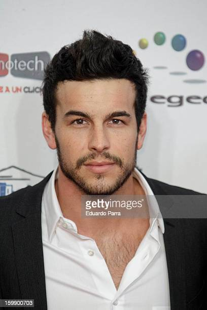 Mario Casas attends Jose Maria Forque awards photocall at Canal theatre on January 22 2013 in Madrid Spain