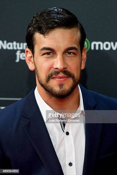 Mario Casas attends 'Mi Gran Noche' premiere during 63rd San Sebastian Film Festival on September 20 2015 in San Sebastian Spain