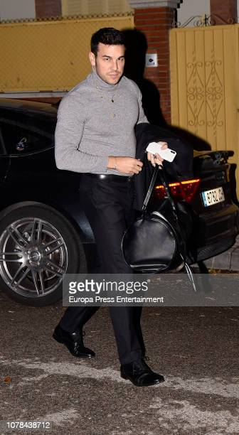 Mario Casas attends the Blanca Suarez's 30th birthday party on October 27 2018 in Madrid Spain